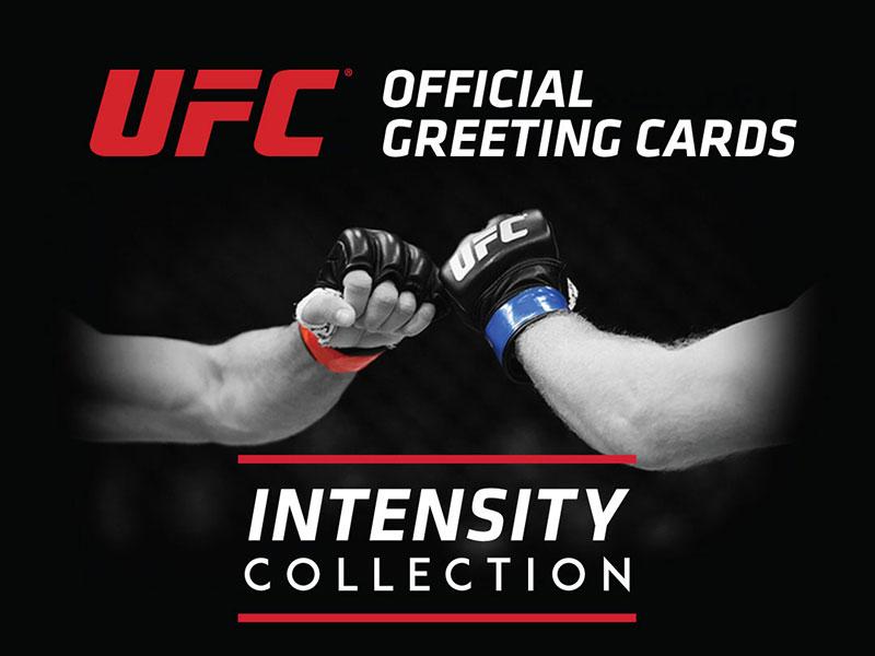 UFC Video Greeting Cards: Print Design