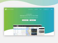 SaaS Company Home Page Concept