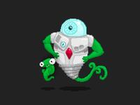 Pixel Art Aliens