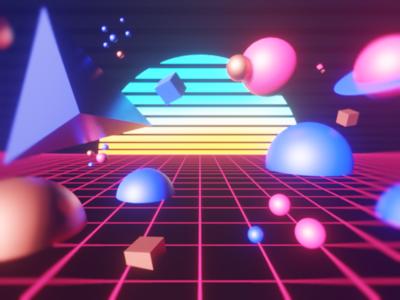 Retro Space Drive