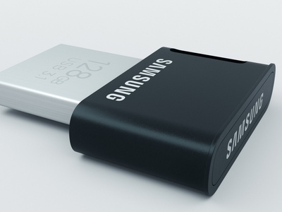 PenDrive samsung mockup product design coronarender 3dsmax render modeling gb usb samsung pendrive