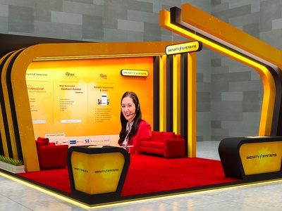 BASIS SOFTEXPO 2019 pavilion interior design exhibition stall design fair softexpo basis