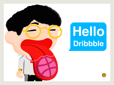 Hello Dribbble jhane chou