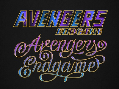 Avengers Endgame : Re-design