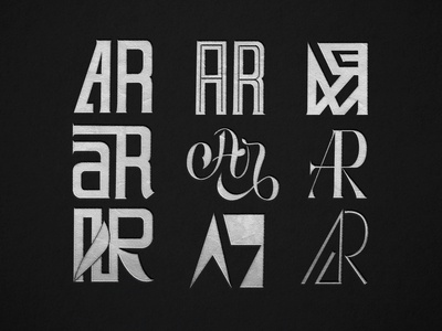 AR Monogram Designs