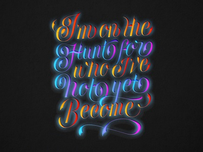 Pinterest Quote : Lettering Design