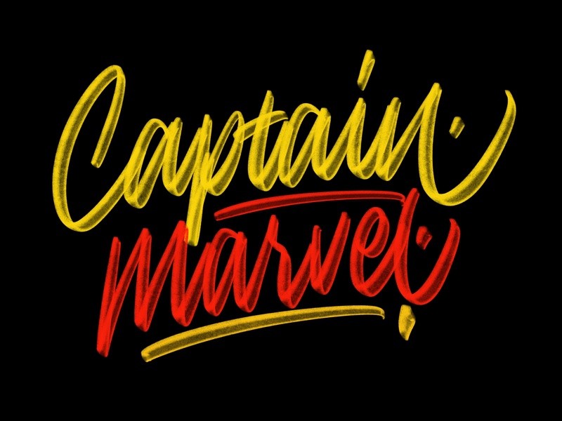 Captain Marvel logotypedesign logotype design logodesign logo design logotype type design typedesign calligraphy and lettering artist procreate lettering procreate calligraphy artist calligraphy logo calligraphy lettering logo lettering daily lettering design lettering art hand lettering handlettering lettering