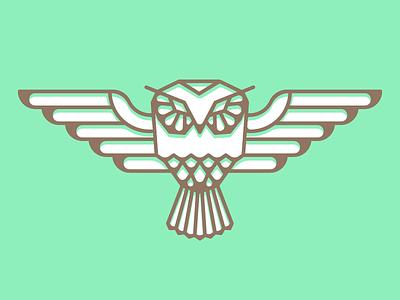 Owl owl bird animal illustration