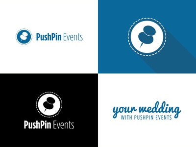 PushPin Events Logo