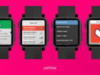 Pebble UI Kit - Preview
