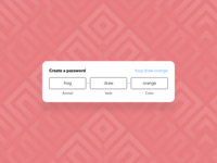 Create a secure password