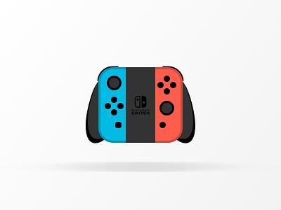 Nintendo Switch control video games switch nintendo icon illustration