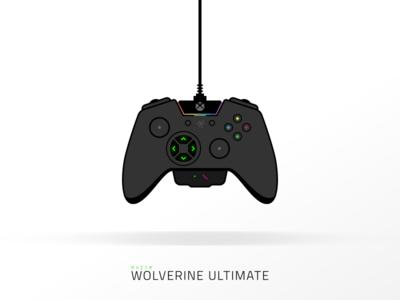 Razer Wolverine Ultimate control video games wolverine razer icon illustration