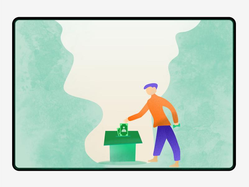 Donation illustration vector helpinghands virus covid19 money illustration donate cash