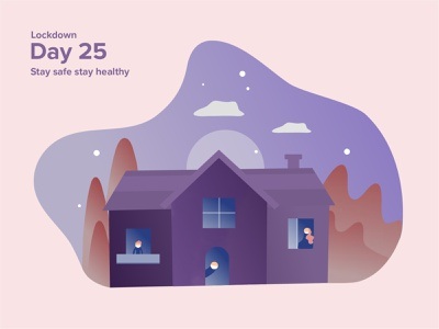 Home Quarantine athome staysafe vector uiux dribbble illustration designs pendamic lockdown design quarantine