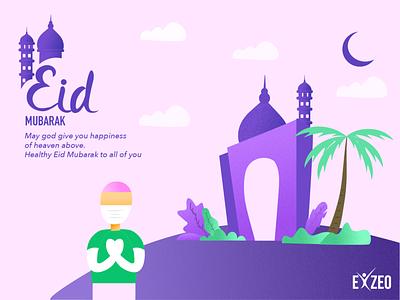 Eid festival ui eidmubarak illustration eid festival