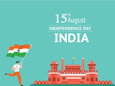 15 Aug Independence day dailyui dribbble design independenceday 15 august india flag illustration design