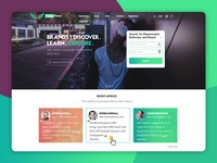 Cannabis Website UI