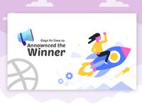 Dribbble Invite Winner