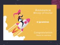 Invite Winner