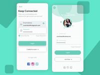 Login UI Concept