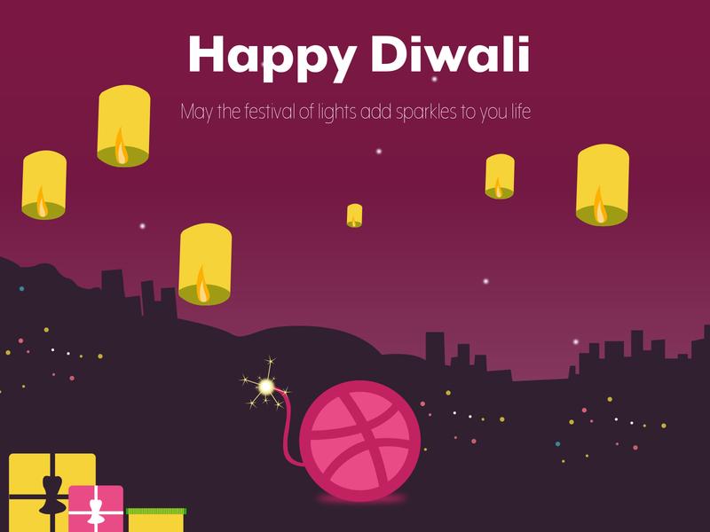 Happy Diwali in Advanced festival illustration design celebrations diwali