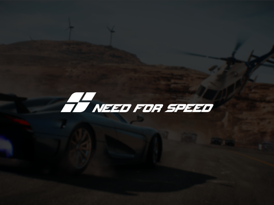 Need For Speed Logo Redesign Concept design monogram mark symbol creative branding simple concept needforspeed redesign logo nfs logo redesign