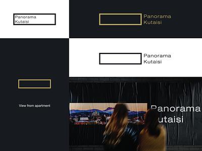 Panorama Kutaisi vector logo panoramic illustration design branding symbol creative simple panorama panorama kutaisi kutaisi