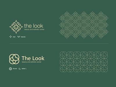 the look symbol design mark simple logo creative beauty salon massage spa esthetic branding