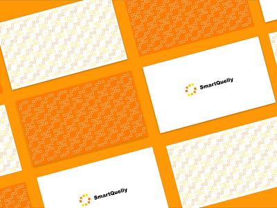 SmartQuelly V1 logoanimation processor artificial intelligence design branding creative simple ai