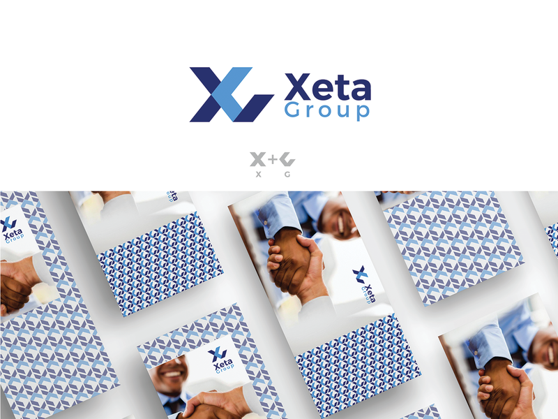 Xeta Group (unused) unused logo unused design branding monogram concept simple nikstudio symbol creative mark logo