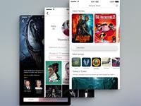 Movie and Music app