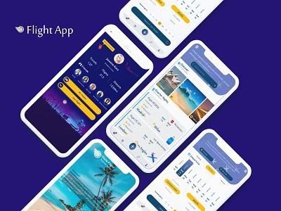 Flight App travel app travel airplane app airplane flight booking app flight booking flight search flight app vector applicaiton illustration branding ux ui photoshop design app