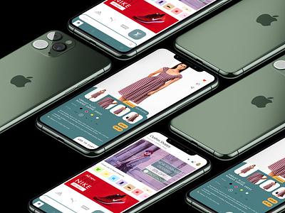 Clothes Mobile shop home page product clothes fashion fashion app cart mobile app design mobile app design shopping app applicaiton ux ui mobile ui