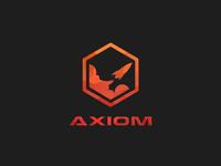 Axiom - rocket ship logo