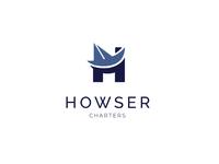 H - single letter logo
