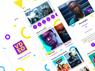 VDEO: Movies and TV on the go.