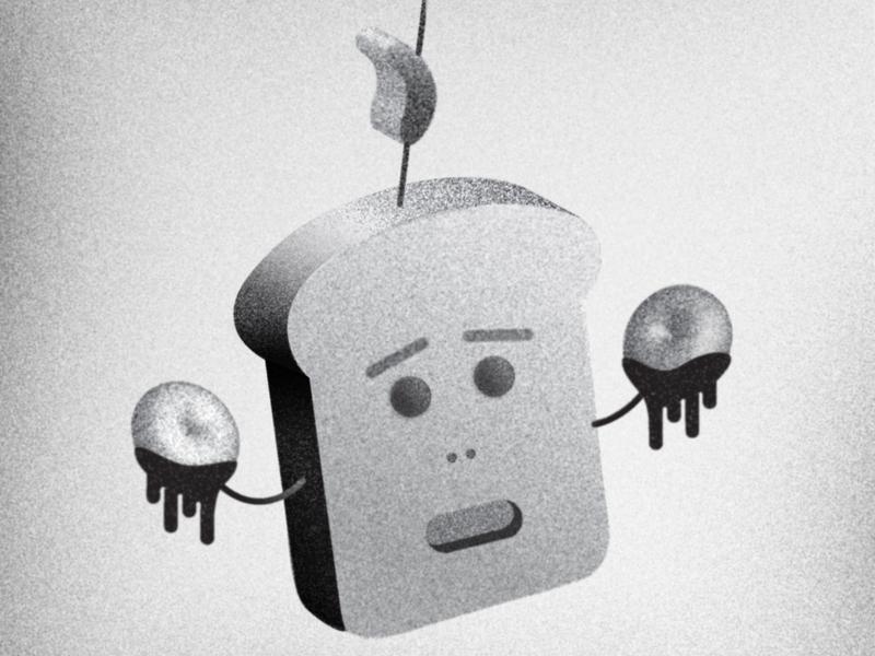 Sousage illustration character design character vector graphic illustration image black  white design illustrator food