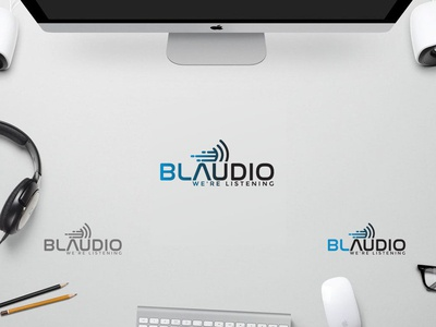 Audio bar logo