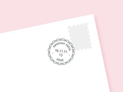 Circular Date Stamp