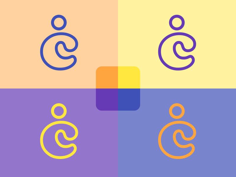 Logo Design for CRM Application typography illustration crm software crm branding ui logo design codecanyon envato