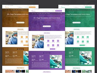 Klinik - HTML5 & CSS3 Responsive Template for Clinic patient appointment envato web ui themeforest css3 html5 photoshop
