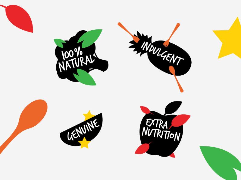 Organic Foods   Ecommerce Illustrations vector ecommerce food organic illustration