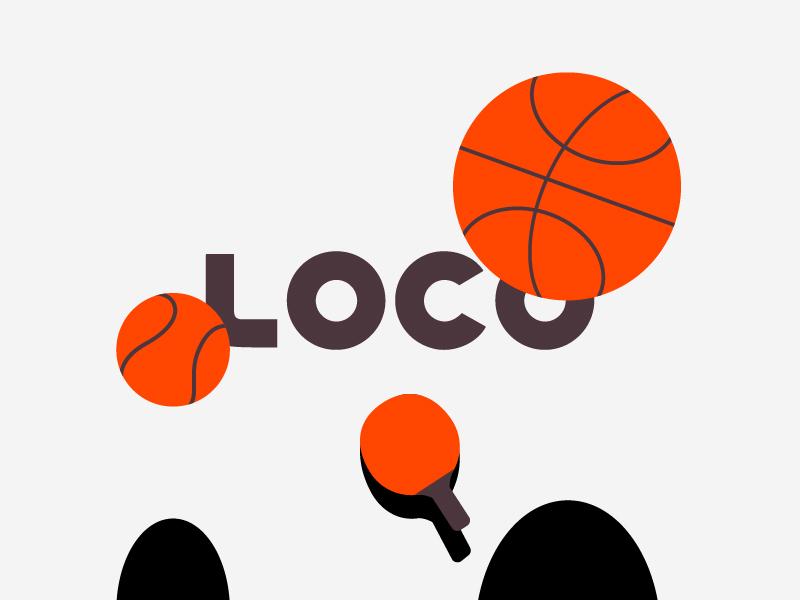 Visual Language   Live quiz app visual language illustration getloconow loco quiz app vector