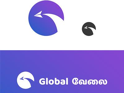 Jogo for a job portal typography color branding brand design web icon brand identity ui vector logo