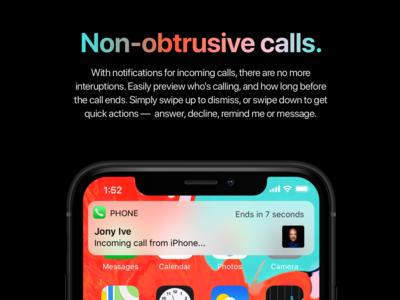 iOS 13 Concept - Incoming Calls