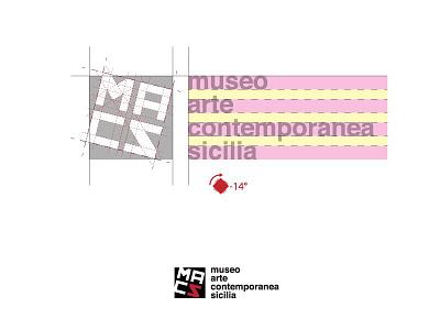 MACS–Museo Arte Contemporanea Sicilia museum logotype graphicdesign graphic dribbble design contemporary branding brandidentity brand artcontemporary art