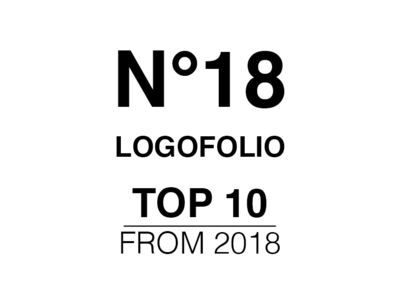 LOGOFOLIO N°18 selection collection 2018 trends logofolio logo graphic design branding type