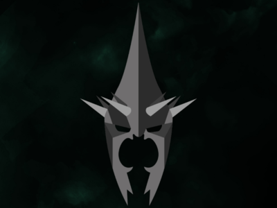 Witch-king minimalism graphicdesign lotr thelordoftherings