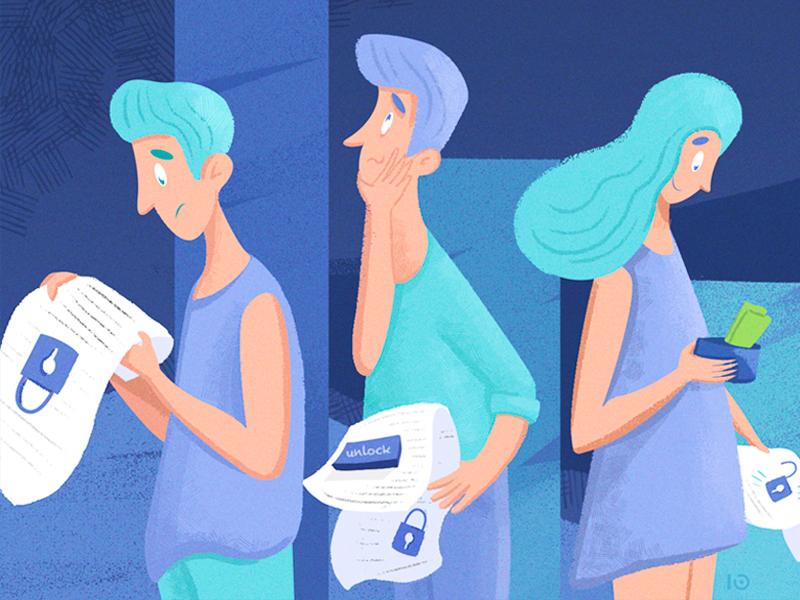 Personalization character analytics digital art illustration personalization